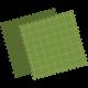 ekv-symbol-tyg-grön-300