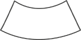 Opus skiva bågform 160x80